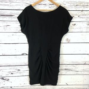 Urban Outfitters Dresses - UO Silence + Noise Black Ruched Dress Open Back